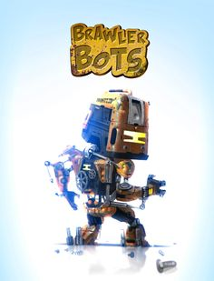 ArtStation - Brawler Bots, Matt Tkocz