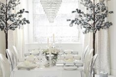 The Paper Mulberry: || CHRISTMAS | GLAMOROUS WHITE