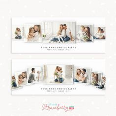 Get access to our entire template library – Strawberry Kit Facebook Cover Photo Template, Facebook Timeline Covers, Photography Templates, Free Photography, Kids Studio, Facebook Banner, Event Banner, Photography Marketing, Cover Photos