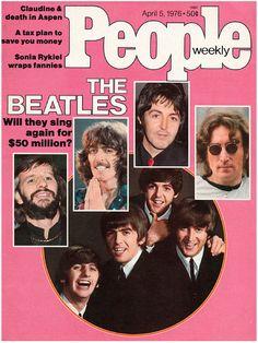 People magazine, April 5, 1976 — The Beatles reunion rumor