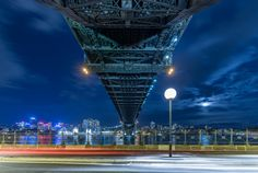 """Sydney Harbour Bridge opened 1932 """"father"""" was Dr J J C Bradfield. It took 1400 men eight years to build at a cost of 4.2 million (1024 x 687) (OC)"""