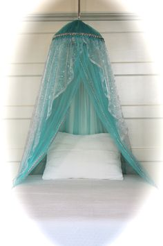The frozen-inspired bed canopy from Atelier Joy