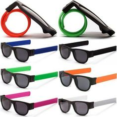 Novel Creative FashionSlap Sunglasses, Couple StylePolarized Lens, Safe for Driving, Outdoors, Protection Against Harmful UV-A/UV-B RaysFactory Direct PriceBrand DesignSlappable Sunglasses with Snap Bracelet Bands Couple Style, Fashion Couple, Mens Glasses, Framing Materials, Brand Design, Hot Pink, Color Black, Safety, Lens