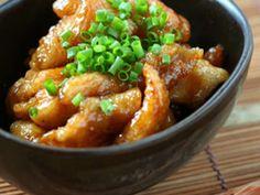 鶏皮おつまみ♡さっぱり甘酢焼きの画像