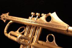 Harrelson Trumpets donates Trumpet to Satchmo Summer Festival 2012