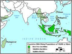 Pray / Malay of Cambodia map
