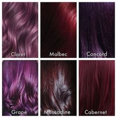 Cabernet Hair Color 7123 Image 11 7 14 at 2 18 Pm 2 Tintescolorante Violet Hair Colors, Hair Color Shades, Hair Color Purple, New Hair Colors, Color Red, Black Cherry Hair Color, Dark Violet Hair, Burgundy Color, Colour