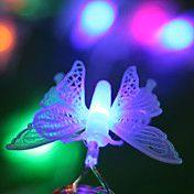 10m 100 Borboletas 100 LED Strip Holiday Ligh... – BRL R$ 95,64
