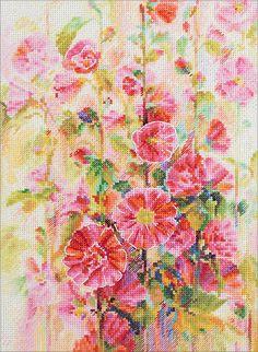 Panna Cross Stitch Kit-Fleurs de Provence