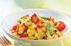 Gemüsecurry mit Kokosmilch - Schrot und Korn - Das Kundenmagazin für den Naturkosthandel