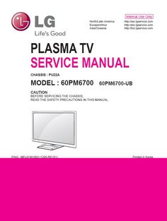 45 Best LG Television Service Manual and Technical