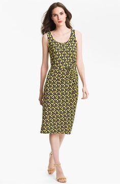 Color-block sandwashed-silk maxi dress
