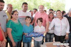 Santa Filomena Atual: Fotos - Comemoração Inicio do Calçamento Poço Comp...