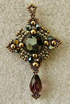 Linda's Crafty Inspirations: Oriental Earrings Update 15/0 seed beads Miyuki