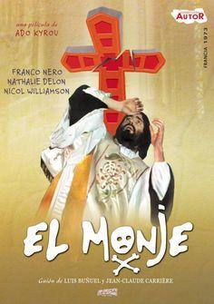 El monje (1972) Francia. Dir: Ado Kyrou. Drama. Terror. Relixión. Sexualidade - DVD CINE 756