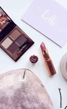 New makeup bits from Charlotte Tilbury. Eyeshadow Quad in 'The Sophistiacte', which is a stunning neutral palette and Lipstick in 'Bitch Perfect', a beautiful nude-coral!
