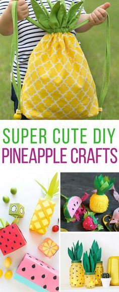 Loving these cheerful DIY pineapple crafts! Thanks for sharing!