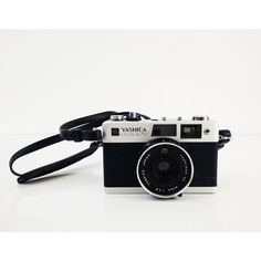 Yashica Electro 35 FC Camera by Reconstitutions on Etsy ($38) found on Polyvore