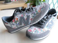 re-fashion: add fabric to sneakers