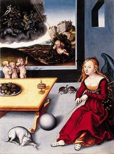 Lucas Cranach The Elder, Melancolia, 1532