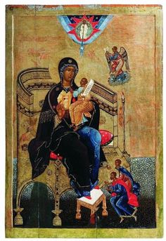 Мастерство Religious Images, Religious Icons, Religious Art, Byzantine Icons, Byzantine Art, Russian Icons, Religious Paintings, Russian Orthodox, Madonna And Child