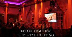 Uplights and TV