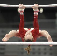 Gymnast Uneven Bars