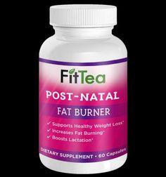 Losing My Post Baby Weight Naturally With FitTea's PostNatal Fatburner + GIVEAWAY!!! #PostNatalFatBurner #ad