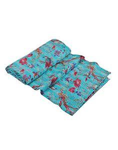 Handicrunch Sari Indian Quilt -Kantha Quilt Quilted Bedsp... https://www.amazon.com/dp/B00NAY416C/ref=cm_sw_r_pi_dp_x_65kazbWDHXPMK