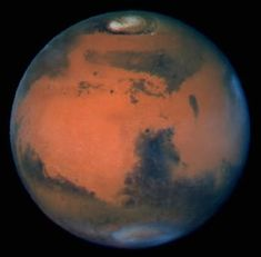 Mars, has look of opening on top like earth and other planets.  Can't wait for more images undoctored by Nasa