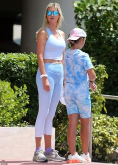 Ivanka Trump models crop top and leggings as she is pictured for the first time in two months   Daily Mail Online Donald Trump Daughter, Trump Models, Crop Top And Leggings, Ivanka Trump, Mail Online, Daily Mail, Capri Pants, Crop Tops, Fashion