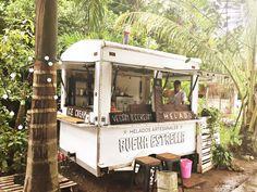 Vegan Ice Cream cart in Tulum... best ice cream I've EVER had