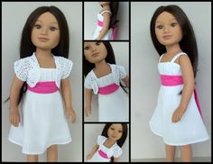Romantic dress for Karito Kids -- An original design by Maiden Flight Clothing    www.maidenflightclothing.blogspot.com
