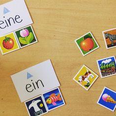 Wortarten Übungen Auf Wunsch zeigen wir hier nach und nach die Inhalte der Wortarten-Kisten. Sie stehen den Kindern für die Freiarbeit…