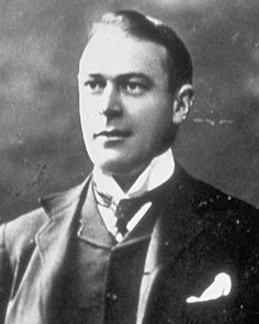 Thomas Andrews, the man who designed Titanic and worked for Harland and Wolff. He was born February 7th 1873 and was 39 at the time of the sinking. He was a man of great dignity and honor, who built a strong ship...a ship that lasted an hour more than he predicted her to live. He died that night, on the ship he created.