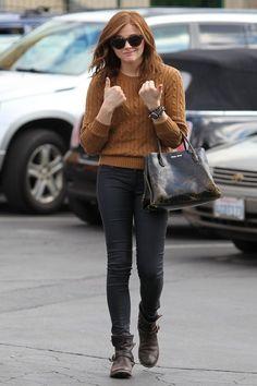 Chloe Moretz in West Hollywood | Tom & Lorenzo  *THUMBS UP* Chloe!