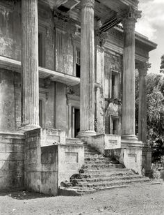 Abandoned. Iberville Parish, Louisiana, Belle Grove, 1938.