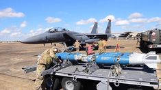 U.S. Air Force F-15s Arm 🟠🟠🟠 🎬Film Credits: Videos by U.S. Air Force Staff Sgt. K. Tucker Owen, Staff Sgt. Nicholas Dastas, Senior Airman Lance Valencia Staff Sergeant, Air Force