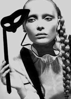 Snejana Onopka (Ukraine) by Mert and Marcus for W, March 2007