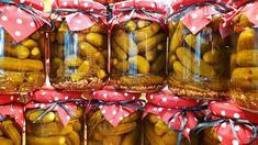 Csemege uborka tartósítószer nélkül @Szoky konyhája Pickles, Cucumber, Youtube, Canning, Automata, Pickling, Pickle, Home Canning, Youtubers