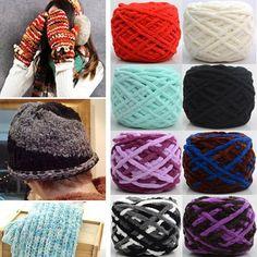 100g Thickened Sub-thread Soft Cotton Knitting Wool Yarn Scarf Hat Sweater Yarn