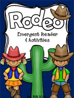 This is an emergent reader about rodeos. It comes with writing pages, a comprehension page, addition color by number page and a sorting rodeo and zoo animals activity.A fun addition to your rodeo unit.By BB Kidz