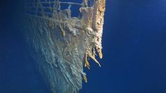 For the first time in 14 years, the RMS Titanic wreck has been revisited: a manned submersible reached the bottom of the North Atlantic Ocean feet) in a ground-breaking expedition in early August. Rms Titanic, Titanic Wreck, Titanic Boat, Ocean Current, House Deck, Time Magazine, Famous Places, Atlantic Ocean, Southampton