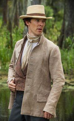 "Benedict Cumberbatch in ""12 Years a Slave"""