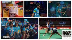 Glipmses from the Premier Badminton League where #CRY was the official NGO partner of the #Bengaluru Top Guns team. To know more about CRY, visit www.cry.org