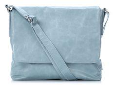 wardow.com - #Jost, Toronto Umhängetasche Leder hellblau 32 cm, #blue, #bag