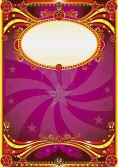 A purple circus background for a poster with a vortex. read your message !