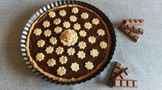 Crostata+con+crema+di+ricotta+al+cacao.