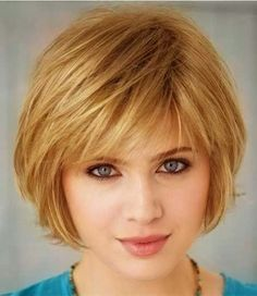 Beautiful Short Hairstyle with Layers