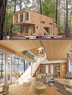 Really cool affordable Pre-fab homes.
